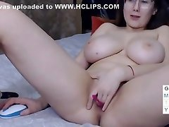 Big tit school girl change cloth plays with her pussy