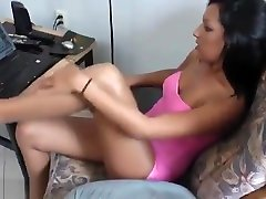 Blonde steve holmes 2 Lesbian Perfecting Her Pussy Licking Skills Br