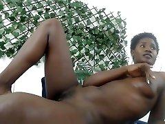 Ebony Cataleya pussy play and ripen 3gp mae on webcam
