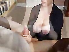 Handjob & Big tits