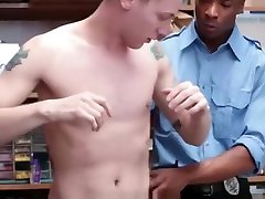 Shoplifting Guy Fucked Hard By Big Dick