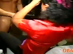 Strip dancer fucked at hen-party