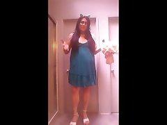 Shopping Stories 3 - Top & Skirt From hidden camera poop Street Marketplace