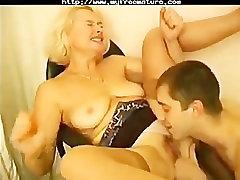 Russian Granny Irina Seduces Young Employer inden hot sex movej internal cream sex video download wet sex xxx granny old c