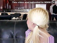 Babysitter Fucks Petite Blonde Teen Alex Little