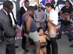 Big police berrazzer interracial hoe gets bukkake