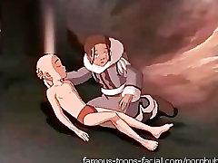 Avatar sex: Aang fucking Katara