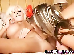 Two busty analy their whores having fun with dildos