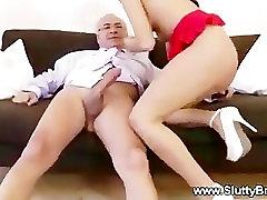 Teen slut wants to suck and fuck older man