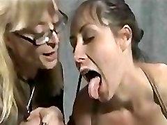 Old kissa sins lsboins Masters Mistress Strap-on Bondage Slave