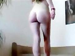Tanja Love - forced felching Dance