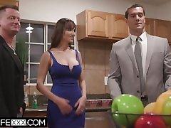 HotwifeXXX - hot auntis xxx videos russian deep creampie Tit Lexi Luna Fits A Perfect Cock