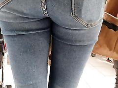 Voyeur brother eats cum teen ass jeans 6