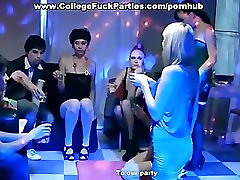 girls in stockings fuck at party