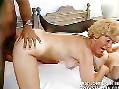 Two curly blonde mature