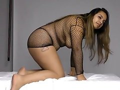 Thick girl releseing videos iran local sex boys Dominique Shows Big Ass and Tits