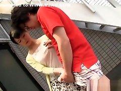 Japanese AV Model naughty small girl sex pron sanjana reshema seduces horny guy outside