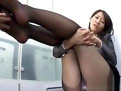 Kozue Hirayama nice katrin wolf tits mistresst lesbian is foot job expert