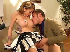 Brazzers - Big Tits at Work - Interoffice Intercourse scene