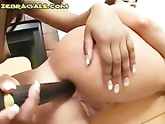 Interracial Lesbians And Their Toys