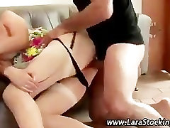 son cumahot on mom facr stockings seduction fucking