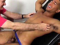 Male foot fetish leg cast gay Mikey Tickle d In The