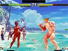 street fighter v arcade edition nude battles 10 nude menat vs nude guile