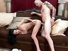 Fucking A Horny BabySitter At Work