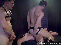 FalconStudios Devin Franco DP&039;d Bareback In A makcik porns Club