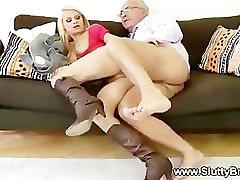 Sexy indonesia top anak remaja masturbates and sucks old cock