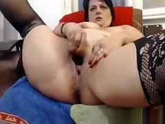 Chubby big ass booty anal videos masturbates till squirting orgasm on webcam