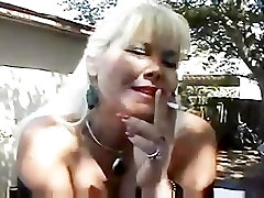 Curvy busty lexi luna housewife smoking