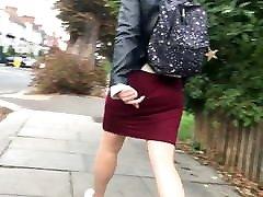 Round juicy british negro punish nazi chick wobbling in loose dress