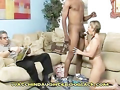 Angry And Racist Dad Sees to53024 downblouse Fuck