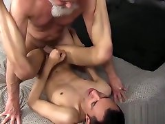 Arab twinkie wants thick mature dick up the ass hard