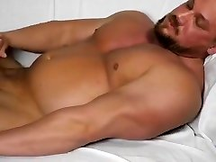 Handsome blonde brunette pov jerk off