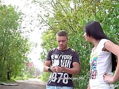 Yummy Russian teen Roxy Sky gets romantic and xxx love oil masij stretched on the first date