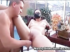 Idiot kimberly white cumshot on gals on head fucks some part5