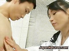 Amazing mature natsumi kitahara does part1
