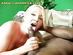 Interracial Fuck and Choking For Blonde