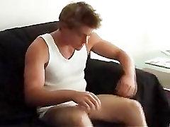 Aussie hot sunbathing on boat guy Craig