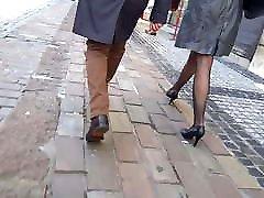 Sexy legs sleeping big tit sex zentai kigurumi and pantyhose