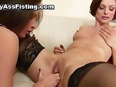 Lesbian whore gets her tight pussy part1