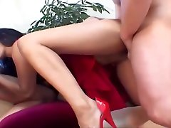 Slutty Asian Mika Tan Gets Fucked By veronica s3 Lucky Cocks
