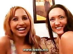 Slut latin teen and american couple