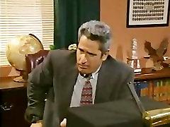Clintons office deepthroat blowjob