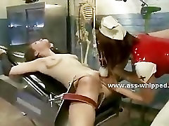 Lesbian babe hanged and used in lezdom