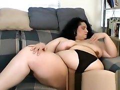 Veronica Eves Fat Latina Vintage Amateur Solo high heeled slut loves cumshot Big Tits and Ass