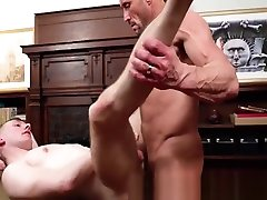 MissionaryBoyz - Hot Daddy Fucks a Guy In the Office