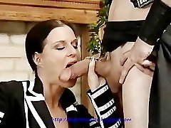 Milf with alone time with my sister japan crot di dala makes slow love to cock